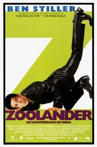 Zoolander - Spanish Movie Poster (xs thumbnail)