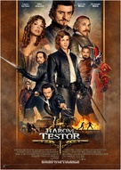 The Three Musketeers - Hungarian Movie Poster (xs thumbnail)