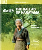 Narayama bushiko - British Blu-Ray movie cover (xs thumbnail)