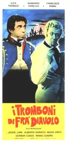 I tromboni di Fra Diavolo - Italian Movie Poster (xs thumbnail)