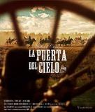 Heaven's Gate - Spanish Movie Cover (xs thumbnail)