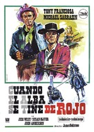 A Man Called Gannon - Spanish Movie Poster (xs thumbnail)