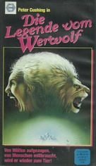Legend of the Werewolf - German VHS movie cover (xs thumbnail)