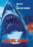 Cruel Jaws - French DVD cover (xs thumbnail)
