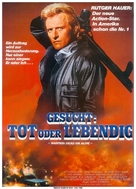 Wanted Dead Or Alive - German Movie Poster (xs thumbnail)