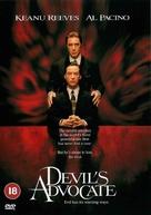 The Devil's Advocate - British DVD movie cover (xs thumbnail)