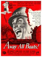 Away All Boats - British Movie Poster (xs thumbnail)