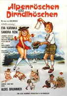 Beichte einer Liebestollen - Swedish Movie Poster (xs thumbnail)