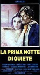 La prima notte di quiete - Italian Movie Poster (xs thumbnail)