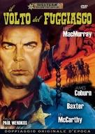 Face of a Fugitive - Italian DVD movie cover (xs thumbnail)