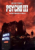 Psycho III - DVD movie cover (xs thumbnail)