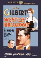 West of Broadway - DVD cover (xs thumbnail)