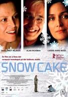Snow Cake - Norwegian Movie Poster (xs thumbnail)