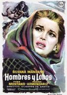 Uomini e lupi - Spanish Movie Poster (xs thumbnail)