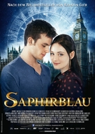 Saphirblau - German Movie Poster (xs thumbnail)