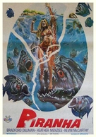 Piranha - Turkish Movie Poster (xs thumbnail)