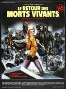 The Return of the Living Dead - French Movie Poster (xs thumbnail)