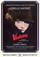 Violette Noziére - Movie Poster (xs thumbnail)
