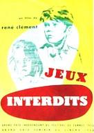 Jeux interdits - French poster (xs thumbnail)