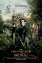 Miss Peregrine's Home for Peculiar Children - Mexican Movie Poster (xs thumbnail)