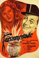 Feuerzangenbowle, Die - German Movie Poster (xs thumbnail)