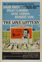 The Love Lottery - British Movie Poster (xs thumbnail)