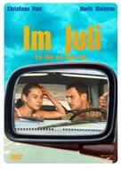 Im Juli. - German poster (xs thumbnail)