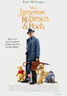 Christopher Robin - Dutch Movie Poster (xs thumbnail)