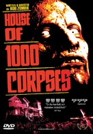 House of 1000 Corpses - Swedish DVD movie cover (xs thumbnail)