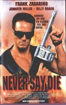 Never Say Die - German Movie Poster (xs thumbnail)