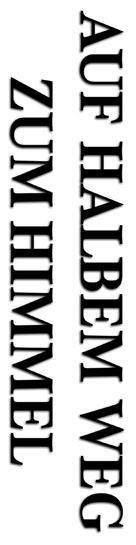Auf halbem Weg zum Himmel - German Logo (xs thumbnail)