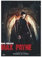 Max Payne - German Movie Poster (xs thumbnail)