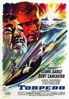 Run Silent Run Deep - Spanish Movie Poster (xs thumbnail)