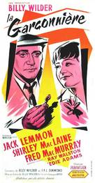 The Apartment - French Movie Poster (xs thumbnail)