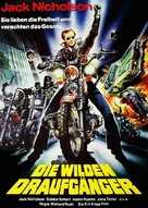 Hells Angels on Wheels - German Movie Poster (xs thumbnail)