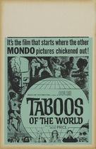 I tabù - Movie Poster (xs thumbnail)