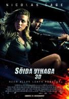 Drive Angry - Estonian Movie Poster (xs thumbnail)