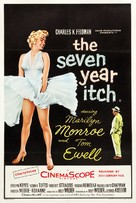 The Seven Year Itch - British Movie Poster (xs thumbnail)