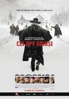 The Hateful Eight - Romanian Movie Poster (xs thumbnail)