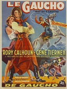 Way of a Gaucho - Belgian Movie Poster (xs thumbnail)