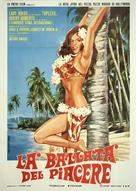 The Wild, Wild World of Jayne Mansfield - Italian Movie Poster (xs thumbnail)
