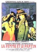La femme et le pantin - French Movie Poster (xs thumbnail)