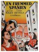 Spanish Affair - Danish Movie Poster (xs thumbnail)