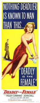 Deadly Is the Female - Movie Poster (xs thumbnail)