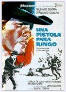 Una pistola per Ringo - Spanish Movie Poster (xs thumbnail)