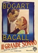 The Big Sleep - Italian Movie Poster (xs thumbnail)