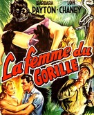Bride of the Gorilla - French Movie Poster (xs thumbnail)