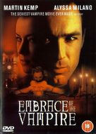 Embrace Of The Vampire - British DVD movie cover (xs thumbnail)