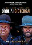 The Sisters Brothers - Lithuanian Movie Poster (xs thumbnail)