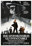 The Untouchables - Italian Movie Poster (xs thumbnail)